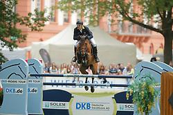 Tebbel, Rene, Cooper<br /> Wiesbaden - Pfingstturnier 2015<br /> Qualifikation Riders Tour<br /> © www.sportfotos-lafrentz.de/Stefan Lafrentz