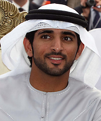 Sheikh Hamdan bin Mohammed Al Maktoum, Crown Prince of Dubai.Photo by: Stephen Lock/i-Images