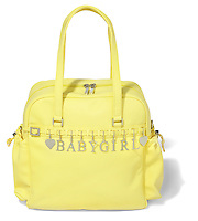 yellow babygirl purse