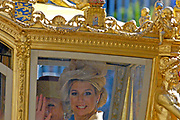 Prinsjesdag 2007 in The Hague. <br /> <br /> On the Photo: Prinses Maxima in the Golden Carrage