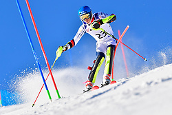 BAUCHET Arthur, LW3, FRA, Slalom at the WPAS_2019 Alpine Skiing World Cup, La Molina, Spain