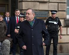 Alex Salmond in Court, Edinburgh 21 November 2019