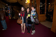 ALANA PHILLIPS; ARLENE PHILLIPS; ABI PHILLIPS , CIRQUE DU SOLEIL LONDON PREMIERE OF VAREKAI. Royal albert Hall. 5 January 2009