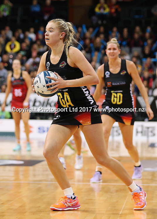 Magic goal attack Monica Falkner during the ANZ Premiership netball match - Magic v Tactix played at Claudelands Arena, Hamilton, New Zealand on Monday 29 May 2017. Copyright photo: Bruce Lim / www.photosport.nz
