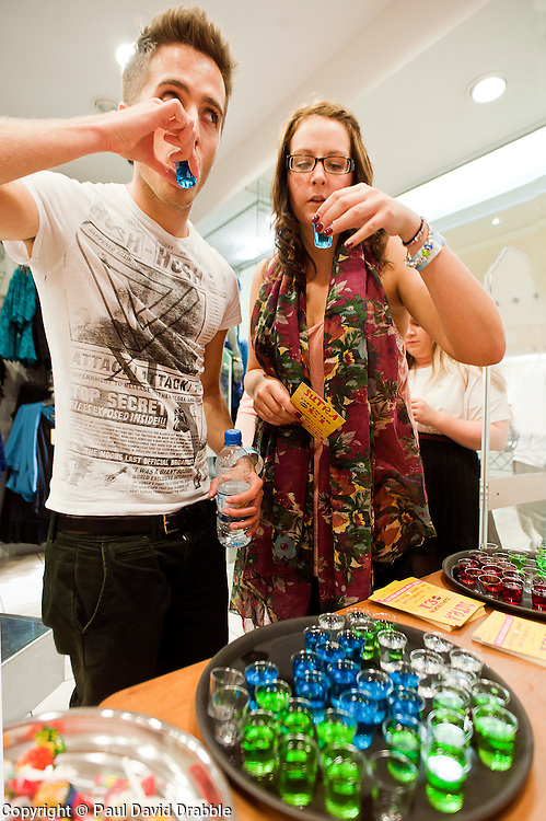 Meadowhall Student Lock In.29th September2011. Image © Paul David Drabble