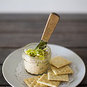 Smoked fish dip with celery hearts and crackers at Garbo's in north Austin on Thursday, March 26, 2015. Lukas Keapproth/AMERICAN-STATESMAN