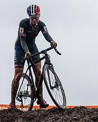 NORBERT RIBEROLLE Marion (FRA) during Women Under 23 race, 2020 UCI Cyclo-cross Worlds Dübendorf, Switzerland, 2 February 2020. Photo by Pim Nijland / Peloton Photos | All photos usage must carry mandatory copyright credit (Peloton Photos | Pim Nijland)
