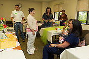 Non-profit organization Hand to Hold and St. David's Round Rock held a Mother's Day Brunch for families that were in the neonatal intensive care unit Friday afternoon.