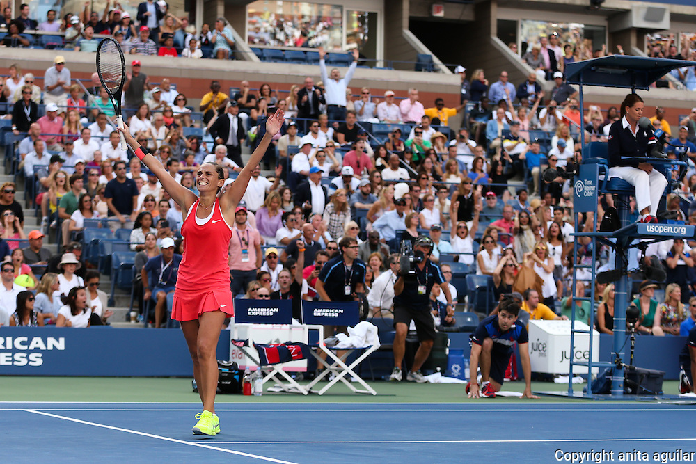 Ladies Semifinal: R. Vinci d S. Williams  2-6, 6-4, 6-4