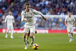 November 3, 2018 - Madrid, Madrid, Spain - Gareth Bale (Real Madrid) seen in action during the La Liga match between Real Madrid and Real Valladolid at the Estadio Santiago Bernabéu..Final score Real Madrid 2-0 Valladolid. (Credit Image: © Manu Reino/SOPA Images via ZUMA Wire)