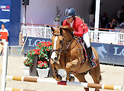 MONACO , 25 JUIN 2015 THE GLOBAL CHAMPIONS TOUR LONGINES INTERNATIONAL JUMPING OF MONACO SOFIA ABRAMOVICH daughter of Chelsea Owner Roman <br /> ©Exclusivepix Media