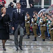 LUX/Luxemburg/20190504 -  Funeral<br /> of HRH Grand Duke Jean, Uitvaart Groothertog Jean, Kroonprins Pavlos en zijn moeder koningin Anne-Matie van Griekenland