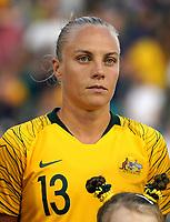 International Women's Friendly Matchs 2019 / <br /> Cup of Nations Tournament 2019 - <br /> Australia v New Zealand 2-0 ( Leichhardt Oval Stadium - Sidney,Australia ) - <br /> Tameka Yallop Butt of Australia