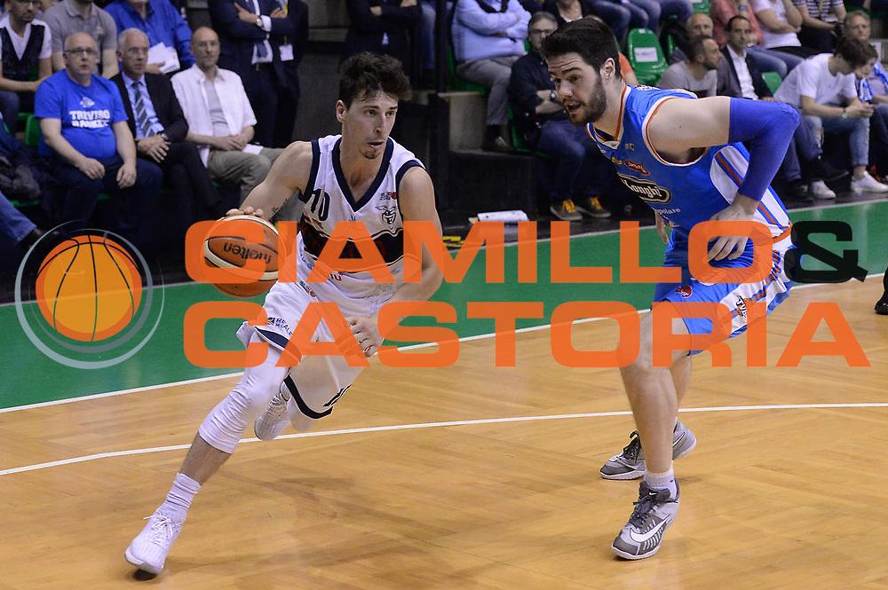 Ruzzier<br /> Treviso 17 Maggio  2017 -<br /> Campionato Basket Legadue - Play Off quarti Gara 2 - Treviso Basket  vs Kontatto Fortitudo Bologna<br /> Foto Ciamillo/Michele Gregolin