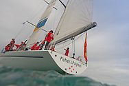 SPAIN, Alicante, 2nd November 2011. Volvo Ocean Race. Legends Regatta.  Fisher & Paykel.