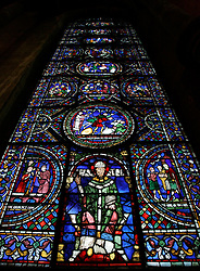 UK ENGLAND CANTERBURY 15OCT05 - Ornate stained glass window at the Canterbury Cathedral...jre/Photo by Jiri Rezac..© Jiri Rezac 2005.Contact: +44 (0) 7050 110 417.Mobile: +44 (0) 7801 337 683.Office: +44 (0) 20 8968 9635..Email: jiri@jirirezac.com.Web: www.jirirezac.com..© All images Jiri Rezac 2005 - All rights reserved.