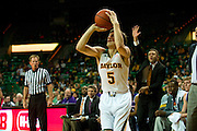 WACO, TX - DECEMBER 18: Brady Heslip #5 of the Baylor Bears shoots a three-pointer against the Northwestern State Demons on December 18 at the Ferrell Center in Waco, Texas.  (Photo by Cooper Neill/Getty Images) *** Local Caption *** Brady Heslip