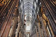 Duitsland, Keulen, 9-8-2009Interieur van de Keulse Domkerk.Foto: Flip Franssen/Hollandse Hoogte