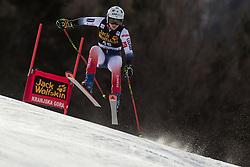 MIRADOLI Romane of France competes during the Ladies' GiantSlalom at 56th Golden Fox event at Audi FIS Ski World Cup 2019/20, on February 15, 2020 in Podkoren, Kranjska Gora, Slovenia. Photo by Matic Ritonja / Sportida