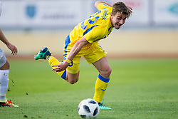 Dario Melnjak of NK Domzale during football match between NK Domzale and NK Ankaran Hrvatini in Round #30 of Prva liga Telekom Slovenije 2017/18, on May 2nd, 2018 in Sports Park Domzale, Domzale, Slovenia. Photo by Urban Urbanc / Sportida