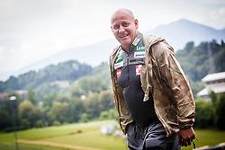 Goran Janus head coach of Slovenian ski jumping national team during Ski Jumping Continental Cup in Kranj, Slovenia Photo by Grega Valancic / Sportida