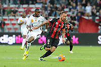 Didier Digard (Nice)<br /> Prince Oniangue (Reims)
