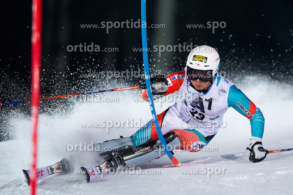 Naoki Yuasa (JPN) during the 7th Mens' Slalom of Audi FIS Ski World Cup 2016/17, on January 24, 2017 at the Planai in Schladming, Austria. Photo by Martin Metelko / Sportida