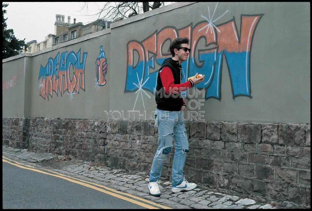 Ian Dark, Trench Design, Z Boys, Bristol, 1983