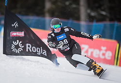 Farrell Megan during the FIS snowboarding world cup race in Rogla (SI / SLO) | GS on January 20, 2018, in Jasna Ski slope, Rogla, Slovenia. Photo by Urban Meglic / Sportida
