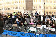 20190222 -  Climate Change Ragazzi manifestano a Piazza Montecitorio