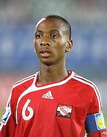 Fussball International U17 WM  Trinidad und Tobago 1-4  Ghana Leston Paul (TRI)