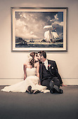 Alison & Adam's beautiful Art Gallery wedding