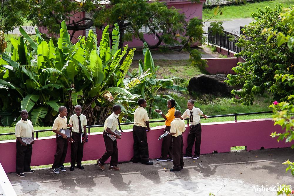 First Day of School at Joseph A. Gomez Elementary School. 4 September 2012.  © Aisha-Zakiya Boyd