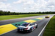 August 17-19 2018: IMSA Weathertech Michelin GT Challenge at VIR. 25 BMW Team RLL, BMW M8 GTLM, Alexander Sims, Connor De Phillippi,