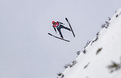 15.03.2019, Vikersundbakken, Vikersund, NOR, FIS Weltcup Skisprung, Raw Air, Vikersund, Qualifikation, Herren, im Bild Constantin Schmid (GER) // Constantin Schmid of Germany during the men's qualifying of the 4th Stage of the Raw Air Series of FIS Ski Jumping World Cup at the Vikersundbakken in Vikersund, Norway on 2019/03/15. EXPA Pictures © 2019, PhotoCredit: EXPA/ JFK