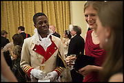 ADE ADIGUN; PRINCE OF ISEYIN, The St. Petersburg Ball. In aid of the Children's Burns Trust. The Landmark Hotel. Marylebone Rd. London. 14 February 2015. Less costs  all income from print sales and downloads will be donated to the Children's Burns Trust.