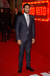 Kayvan Novak attends The World Premiere of 'Cuban Fury'. Leicester Square, London, United Kingdom. Thursday, 6th February 2014. Picture by Chris Joseph / i-Images