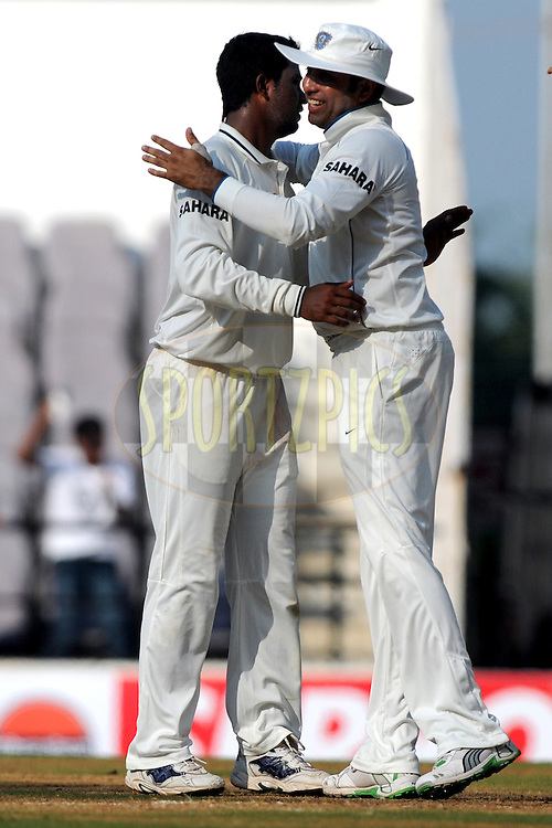 during day 1 of the third test between India and New Zealand held at the Vidarbha Cricket Stadium in Nagpur on the 20th November 2010..Photo by Pal Pillai/BCCI/SPORTZPICS