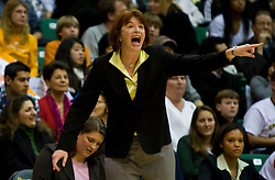 December 22, 2009; San Francisco, CA, USA;  San Francisco Dons head coach Tanya Haave during the first half against the Tennessee Lady Volunteers at War Memorial Gym.  Tennessee defeated San Francisco 89-34.