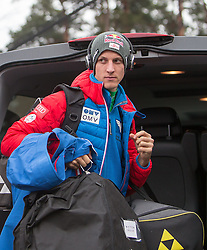 04.01.2015, Bergisel Schanze, Innsbruck, AUT, FIS Ski Sprung Weltcup, 63. Vierschanzentournee, Innsbruck, Probesprung, im Bild Gregor Schlierenzauer (AUT) // Gregor Schlierenzauer of Austria before the Trial Jump for the 63rd Four Hills Tournament of FIS Ski Jumping World Cup at the Bergisel Schanze in Innsbruck, Austria on 2015/01/04. EXPA Pictures © 2015, PhotoCredit: EXPA/ JFK