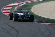 February 20, 2013 - Barcelona Spain. Valtteri Bottas, Williams F1 Team  during pre-season testing from Circuit de Catalunya.