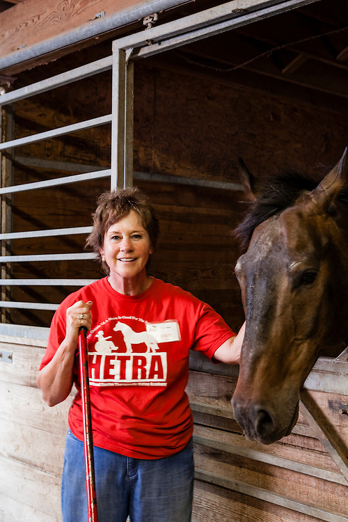 20 June 2012- HETRA (Heartland Equine Therapeutic Riding Academy is photographed in Valley, Nebraska.