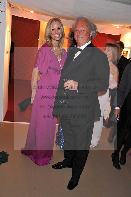 KATE DRIVER and GRAYDON CARTER at the Raisa Gorbachev Foundation Gala held at the Stud House, Hampton Court, Surrey on 22nd September 22 2011