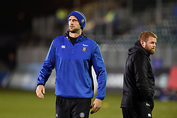 Bath Assistant Coach Luke Charteris looks on prior to the match - Mandatory byline: Patrick Khachfe/JMP - 07966 386802 - 06/12/2019 - RUGBY UNION - The Recreation Ground - Bath, England - Bath Rugby v Clermont Auvergne - Heineken Champions Cup