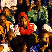eritrei cristiani sbarcati a Lampedusa a Luglio 2013