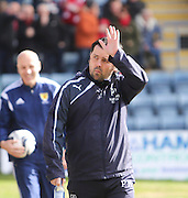 Dundee manager Paul Hartley - Dundee v Aberdeen, SPFL Premiership at Dens Park<br /> <br />  - &copy; David Young - www.davidyoungphoto.co.uk - email: davidyoungphoto@gmail.com