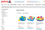 Product shots for Petco Website, non-shock images of your products.