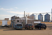 "South Dakota SD USA, Medicine Creek saloon A ""Café Bagdad"" style bar in the middle of the SD prairie."