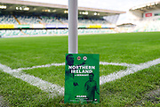 The match programme ahead of the UEFA European 2020 Qualifier match between Northern Ireland and Germany at National Football Stadium, Windsor Park, Northern Ireland on 9 September 2019.