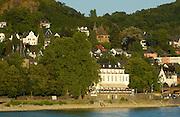 Naturpark Rhein-Westerwald..Blick auf Linz am Rhein